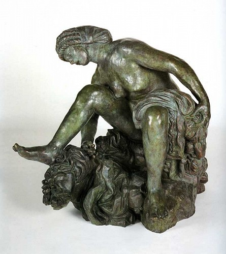 Exhibition: 19th & Early 20th-Century Selections, Work: Antoine Bourdelle Large Crouching Bather (Grande baigneuse accroupie)