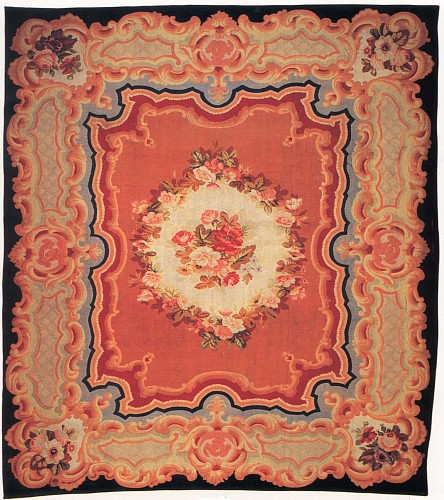 Exhibition: Furniture & Carpets: 19th-Century France & Austria, Work: 19th Century FRENCH Aubusson Carpet, France