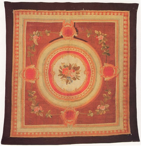 19th Century FRENCH<br/> <i>Aubusson Rug, France</i>